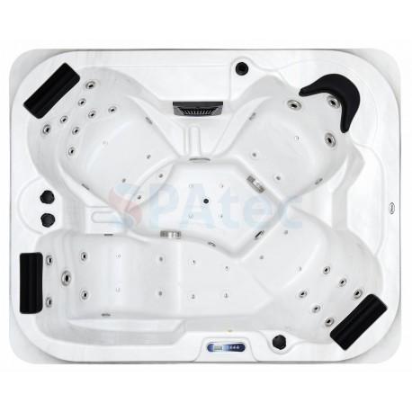 Jacuzzi spa extérieur SPAtec 500B blanc